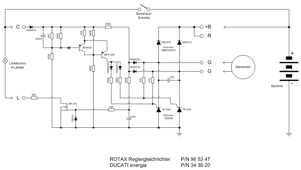 AeroElectricList Archive Browser – Rotax 582 Wiring Diagram
