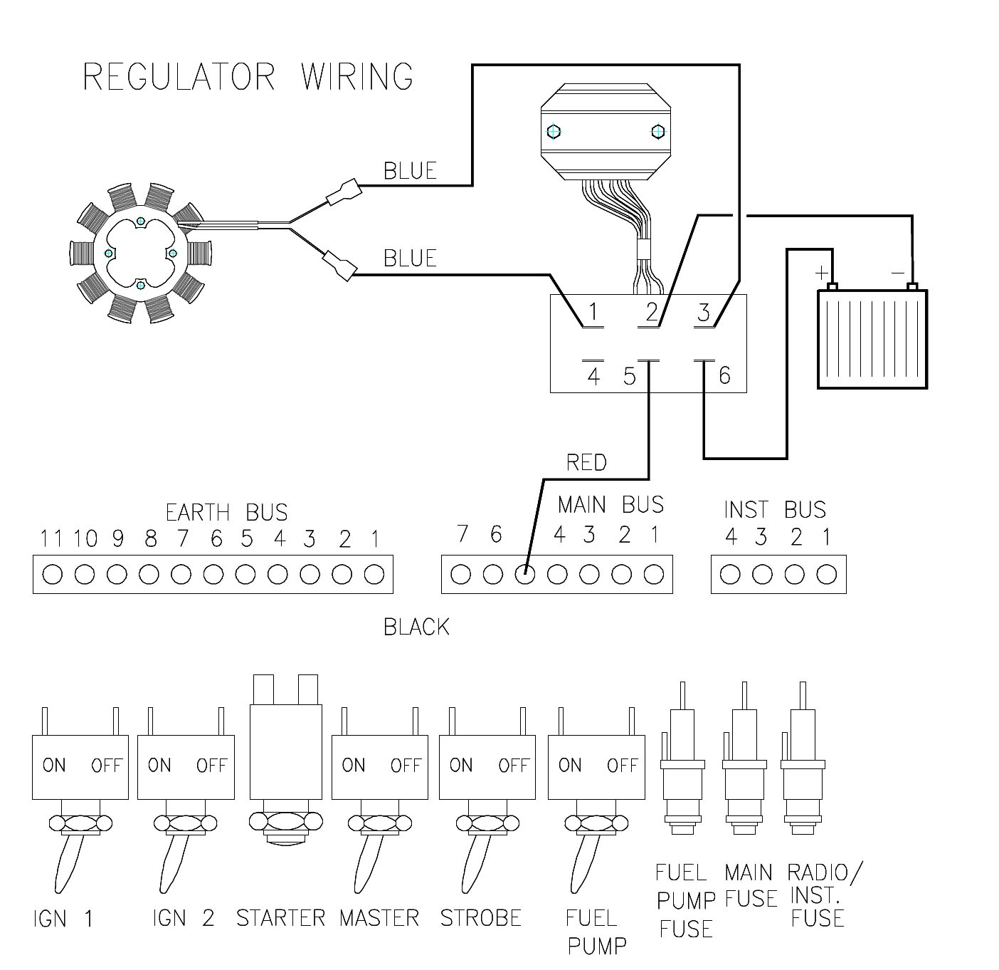 aeroelectric-list digest sun 07/20/08,Wiring diagram,Wiring Diagram Cessna 12 Volt Alternator